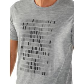 Icebreaker Tech Lite Sequence SS Crewe Shirt Men metro heather